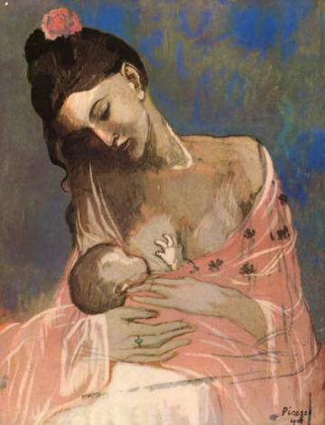 Pablo Picasso - macierzyństwo